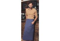 Bistroschürze Jeans 1892 Georgia,m.aufgesetzten Taschen (LxB) 90x105cm