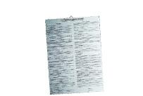 Jugendschutzgesetz Schild,m.Aufhängeöse silber/schwarz hinterdruckt