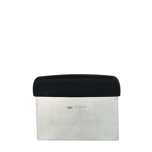 Teigschaber 150x75mm,m.schwarzem Kunststoffgriff PA