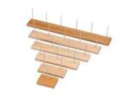 Bonspieß m.4-Spießen natur,Holz Ammon