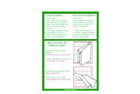 Badezimmeraufkleber 10x13,5cm weiß,10 i./Pack GDG