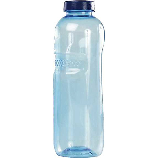 Mehrwegflasche 500ml m.Schraubdeckel,transparent blau IMH