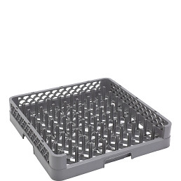 Tablettkorb/Tellerkorb 1 Seite offen,(BxTxH) 500x500x102mm grau CT