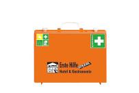Erste Hilfe Koffer orange Spezial Hotel u.Gastro,Inhalt DIN-Norm Plus WSÖ