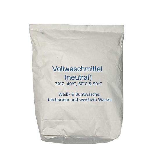 Vollwaschmittel neutral 30/60/90°C,20kg Sack KO