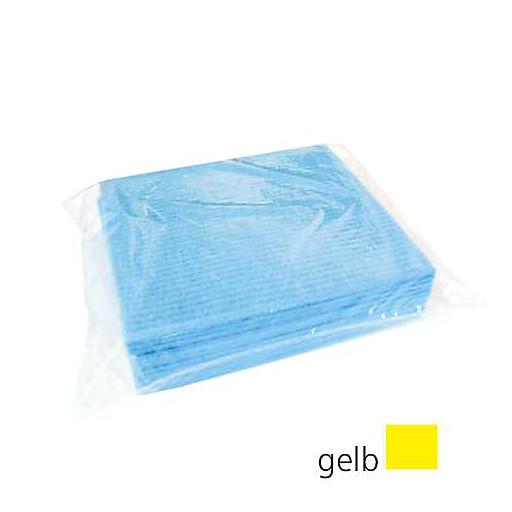 Schwammtücher feucht 25x31cm gelb,10 i./Karton SI