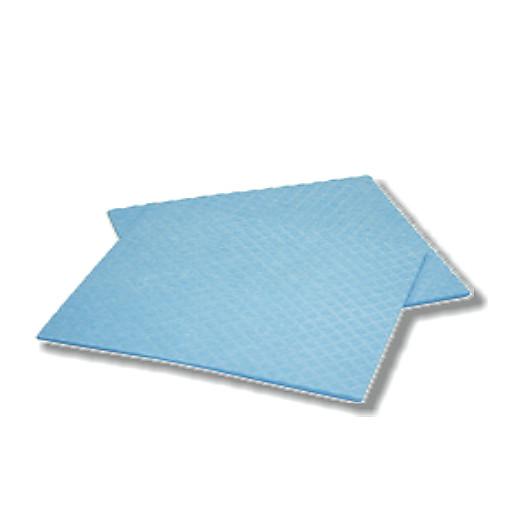 Schwammtuch 62x38cm blau,10 i./Karton SI