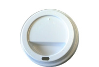 Deckel f.Coffee-Cup 90mm Ø 12oz/16oz weiß,1000 i./Kt.
