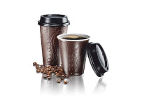 Coffee-Cup to go 300ml braun,1495 i./Kt.