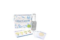 Starterset Clean Card PRO m.25 Karten,m.PET-Flasche u.Bildkarte Hygiene-Schnelltest FM